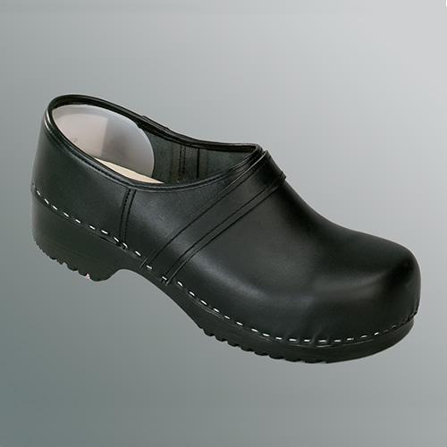 Dichte schoenklomp met pu zool en stalen neus